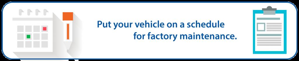 Subaru Factory Scheduled Maintenance